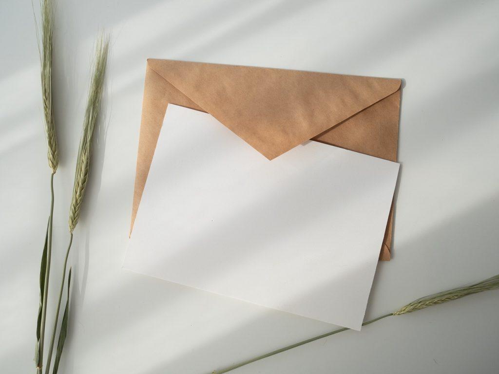 衛生管理者の免許申請書を送る際の封筒は2つ必要