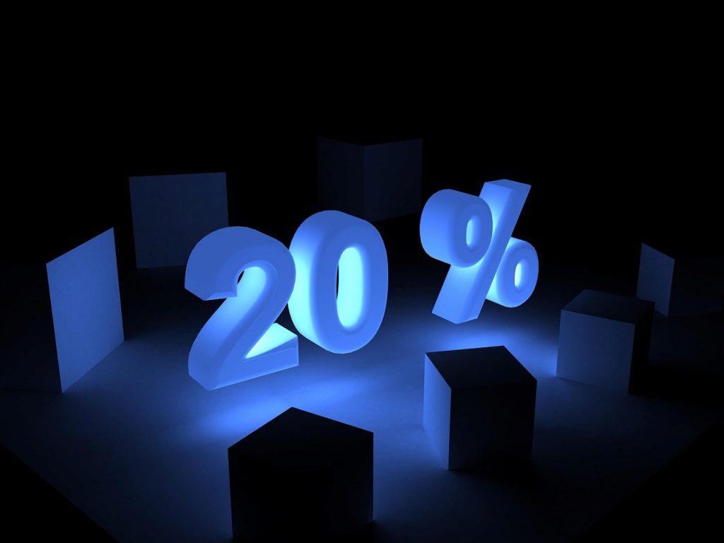 衛生管理者を一発合格する割合は20パーセント