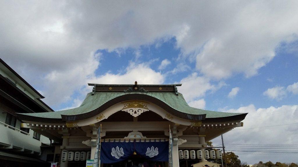 衛生管理者 合格祈願で神社へ行く